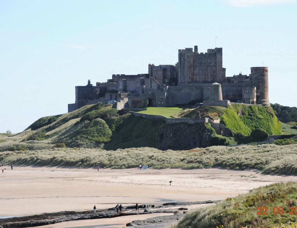 Bamburgh Beach September