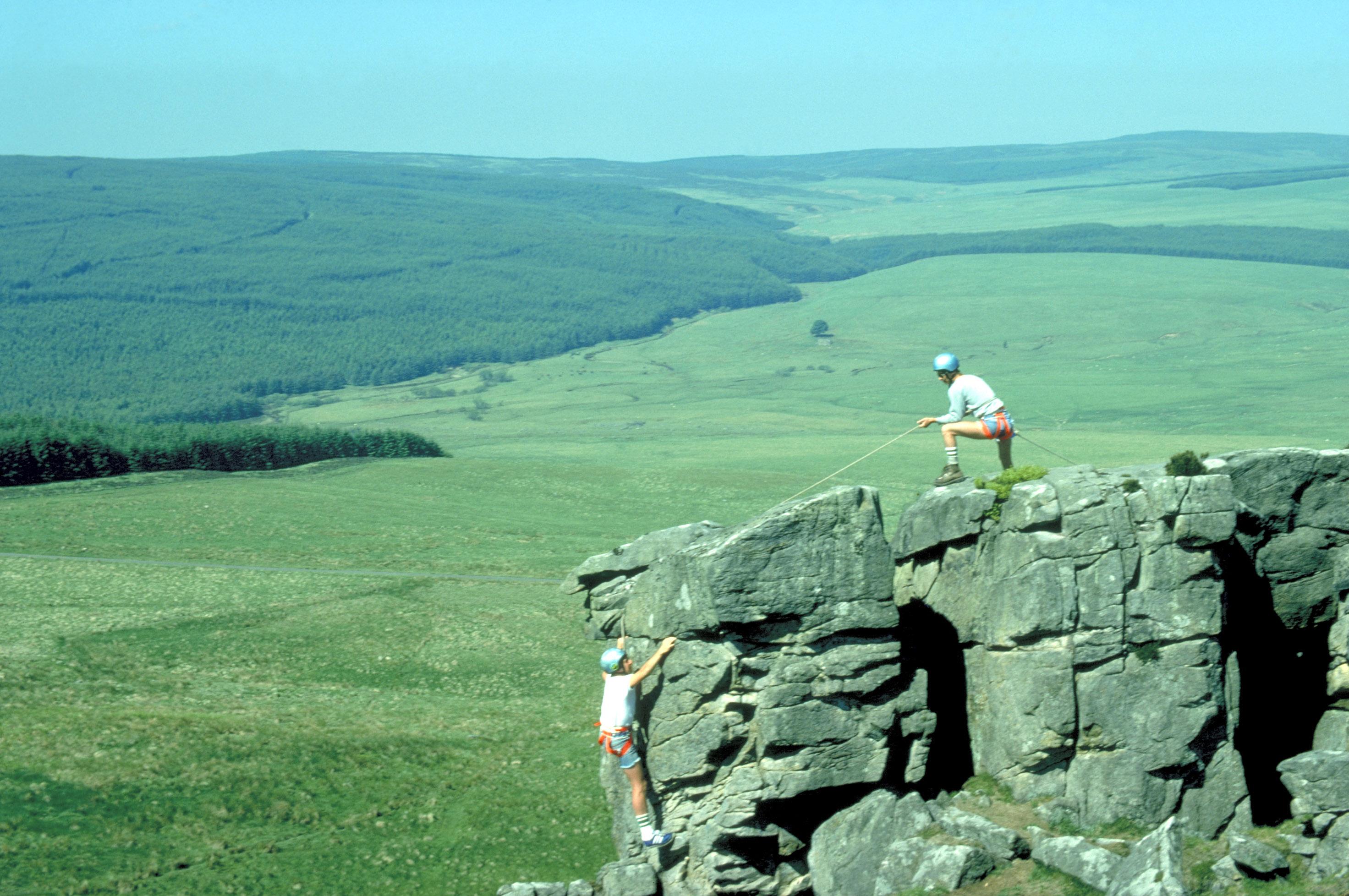 Climbing _Budle_Bay_Croft