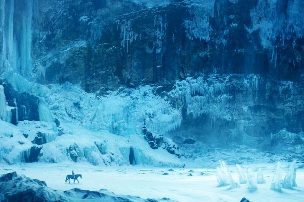 The Ice Henge Sculpture on Game of Thrones
